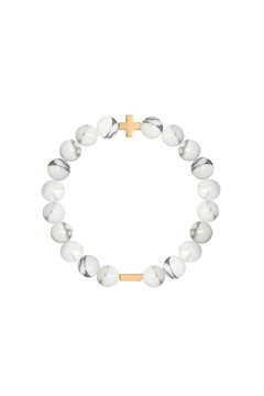 CHARGED Charged Howlite Bracelet - Alternate List Image