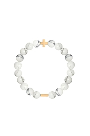 CHARGED Charged Howlite Bracelet - Product Mini Image