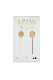 CHARGED Citrine Chakra Earrings - Product Mini Image