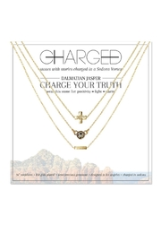 CHARGED Dalmatian Layered Necklace - Front cropped