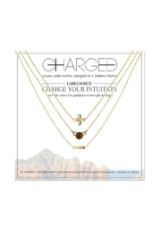 CHARGED Labradorite Layered Necklace - Product Mini Image