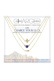 CHARGED Lapis Layered Necklace - Product Mini Image