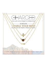 CHARGED Tiger's Eye Necklace - Product Mini Image