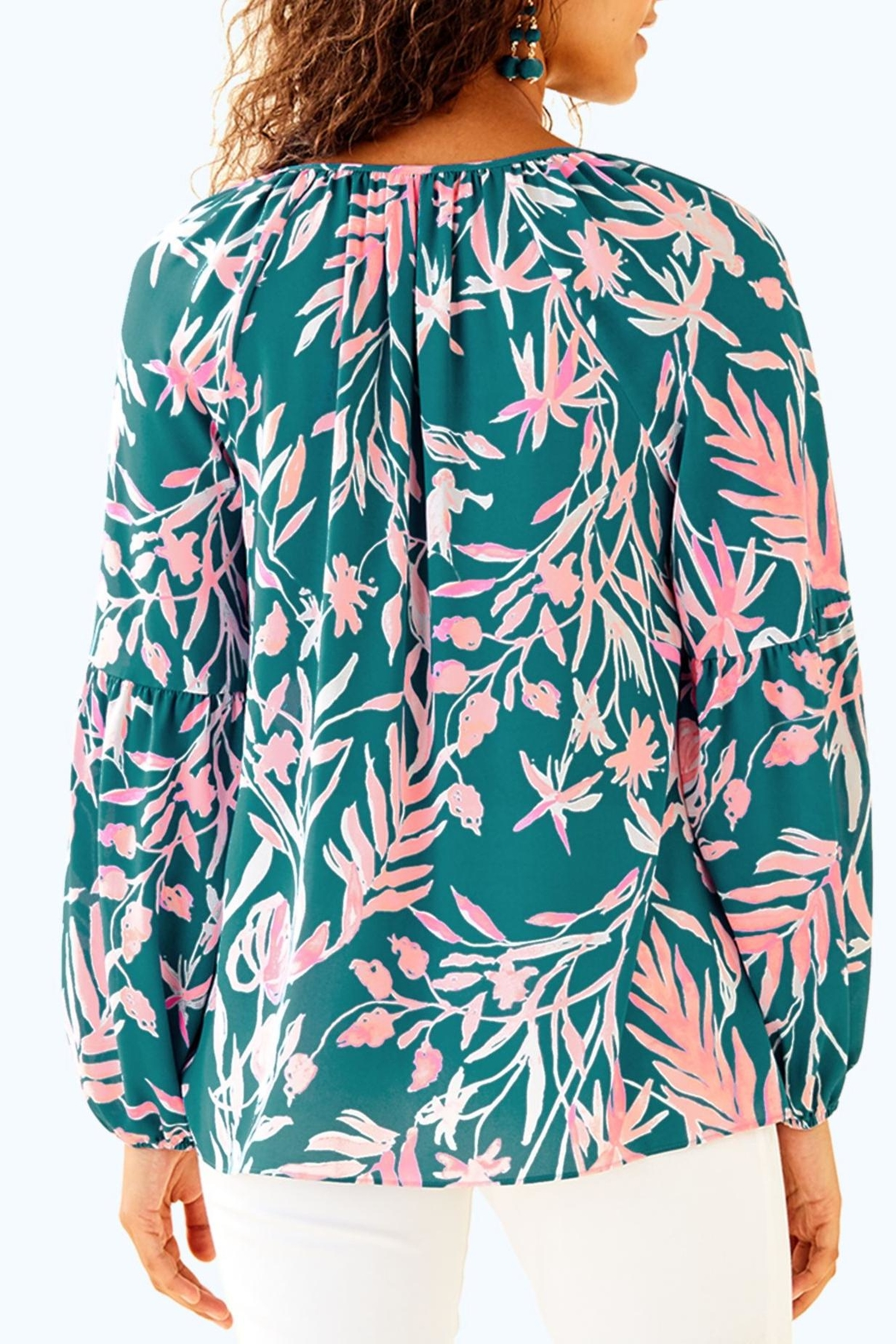 Lilly Pulitzer Charleigh Top - Front Full Image