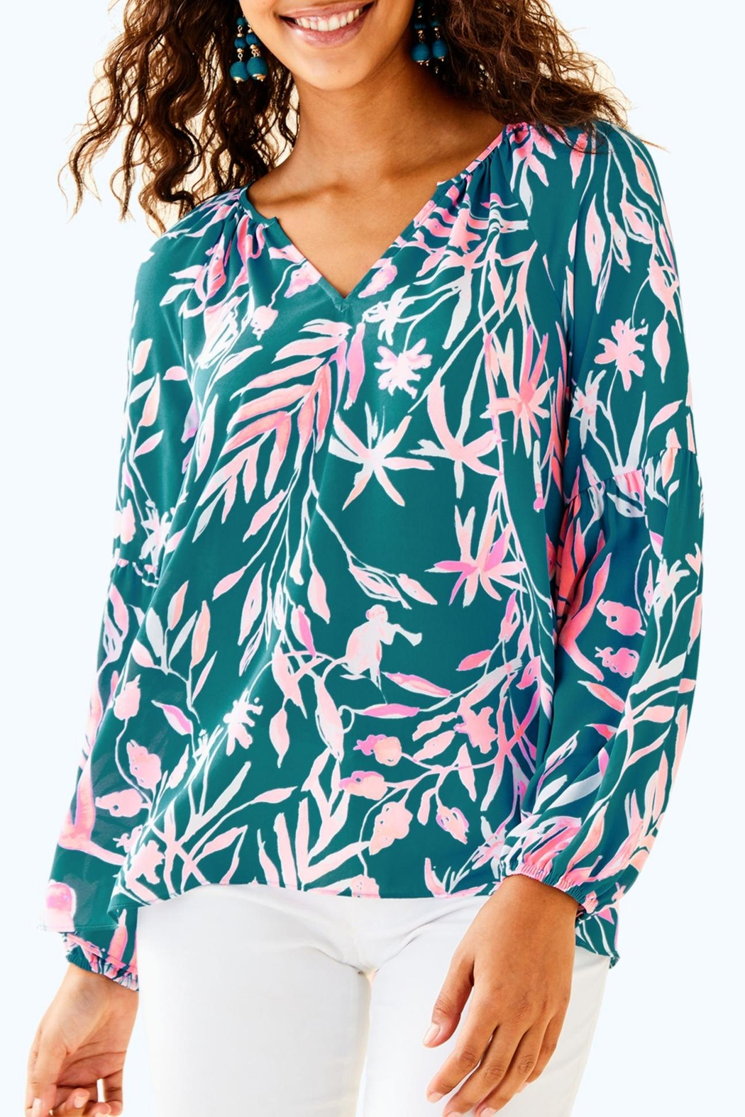 Lilly Pulitzer Charleigh Top - Main Image