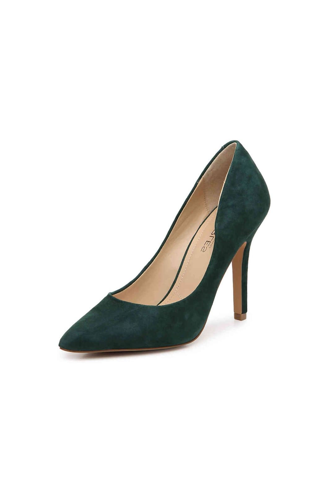 Charles By Charles David Green Suede Pump - Main Image