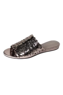 Shoptiques Product: Rosegold Leather Slide