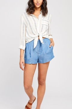 Gentle Fawn Charleston Button Front Shirt - Product List Image
