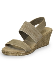 CHARLESTON Cooper Wedge Slingbacks - Front cropped