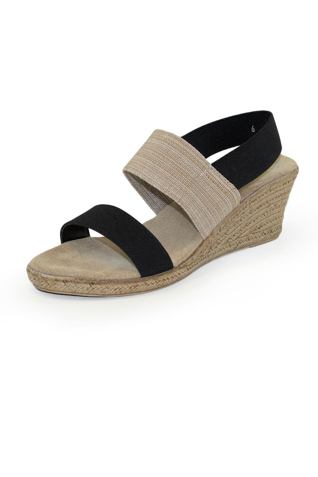 CHARLESTON Cooper Wedge Slingbacks - Front Cropped Image