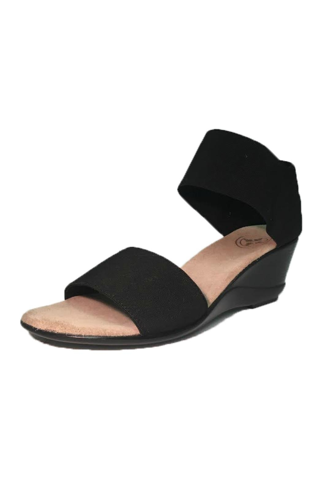 CHARLESTON Justice Elastic Wedge - Front Cropped Image