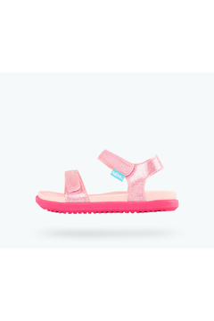 Native Charley Glitter Child Sandals Princess Pink Little Kid - Product List Image