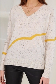 Charli Agatha Cashmere Sweater - Front full body