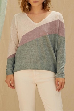 Shoptiques Product: Charli Intarsia Sweater