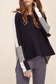 Charli Intarsia Wool Pullover - Front cropped