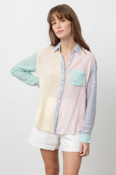 Rails Charli Rainbow Stripe - Product List Image
