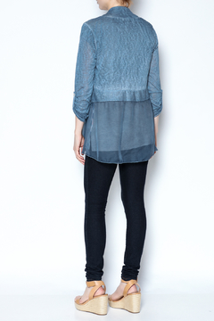 Charlie B. Lace Trim Cardigan - Alternate List Image