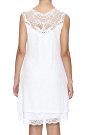 Charlie B. White Lace Dress - Back cropped