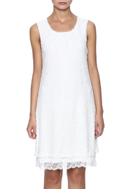 Charlie B. White Lace Dress - Side cropped