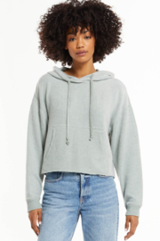 z supply Charlie Cozy Knit Hoodie - Product Mini Image