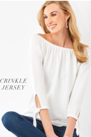 Giftcraft Charlie Crinkle Jersey Top - Product Mini Image