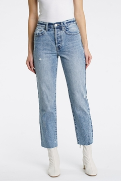 Pistola Charlie High Rise Straight Jeans in Wonders - Product List Image