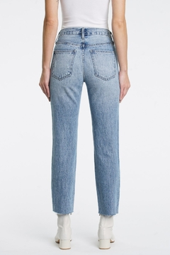 Pistola Charlie High Rise Straight Jeans in Wonders - Alternate List Image