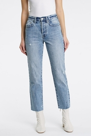 Pistola Charlie High Rise Straight Jeans in Wonders - Product Mini Image