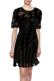 Charlie Jade Felt Design Dress - Product Mini Image