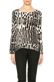 Charlie Jade Leopard Silk Top - Product Mini Image