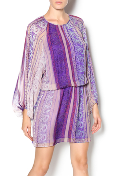 Shoptiques Product: Sheer Sleeve Mini Dress
