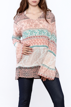 Shoptiques Product: Paisley Print Tunic Top