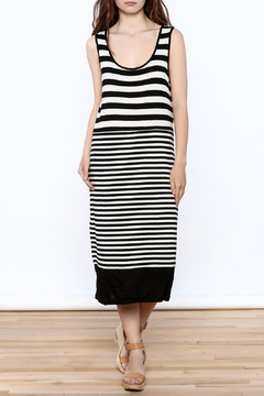 Shoptiques Product: Stripe Print Midi Dress