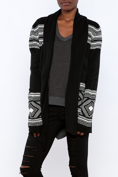 Shoptiques Product: Black Sweater Cardigan