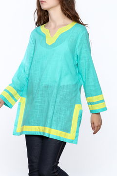 Shoptiques Product: Color Block Tunic Top