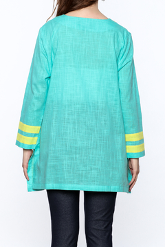 Charlie Paige Color Block Tunic Top - Alternate List Image