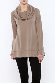 Charlie Paige Cowl Neck Tunic - Product Mini Image