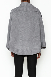 Charlie Paige Double Breasted Cardigan - Back cropped
