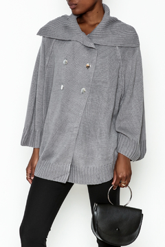 Charlie Paige Double Breasted Cardigan - Product List Image