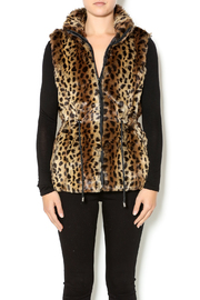 Charlie Paige Faux Fur Vest - Product Mini Image