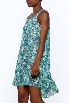 Shoptiques Product: Jade Green Floral Dress