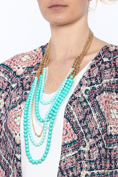 Charlie Paige Gold Beaded Necklace - Alternate List Image