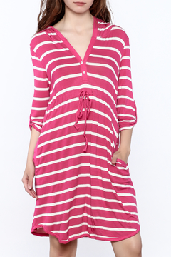Charlie Paige Vibrant Hooded Dress - Product List Image