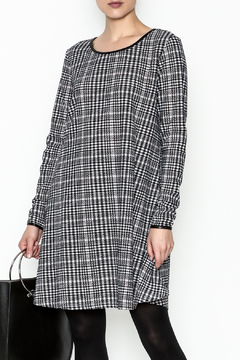 Charlie Paige Houndstooth Check Dress - Product List Image