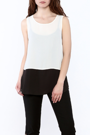 Charlie Paige Loose Fit Chiffon Top - Product Mini Image