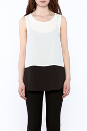 Charlie Paige Loose Fit Chiffon Top - Side cropped