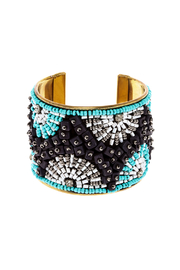 Charlie Paige Rhinestone Cuff Bracelet - Front cropped