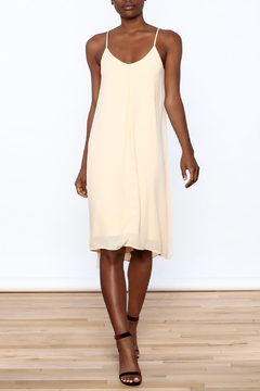 Shoptiques Product: Soft Peach Swing Dress