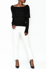 Charlie Paige Sparkle Collar Sweater - Side cropped