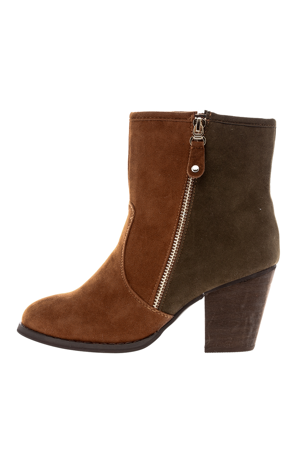 Charlie Paige Two Tones Booties - Main Image
